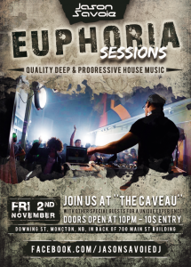 Euphoria Sessions 001 - Live from The Caveau