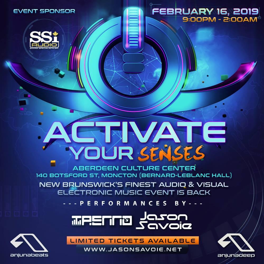 Activate Your Senses 2019
